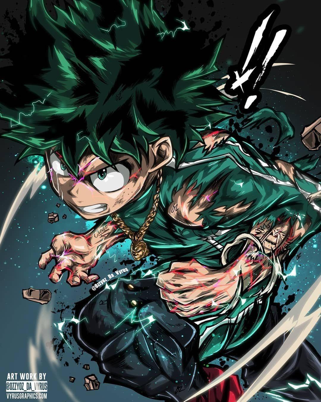 anime animeboy fanart GG Hero izuku manga midoriya