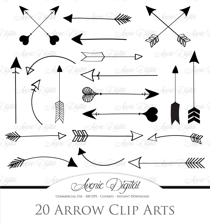 Arrows Clipart and Vectors Arrow clipart, Clip art