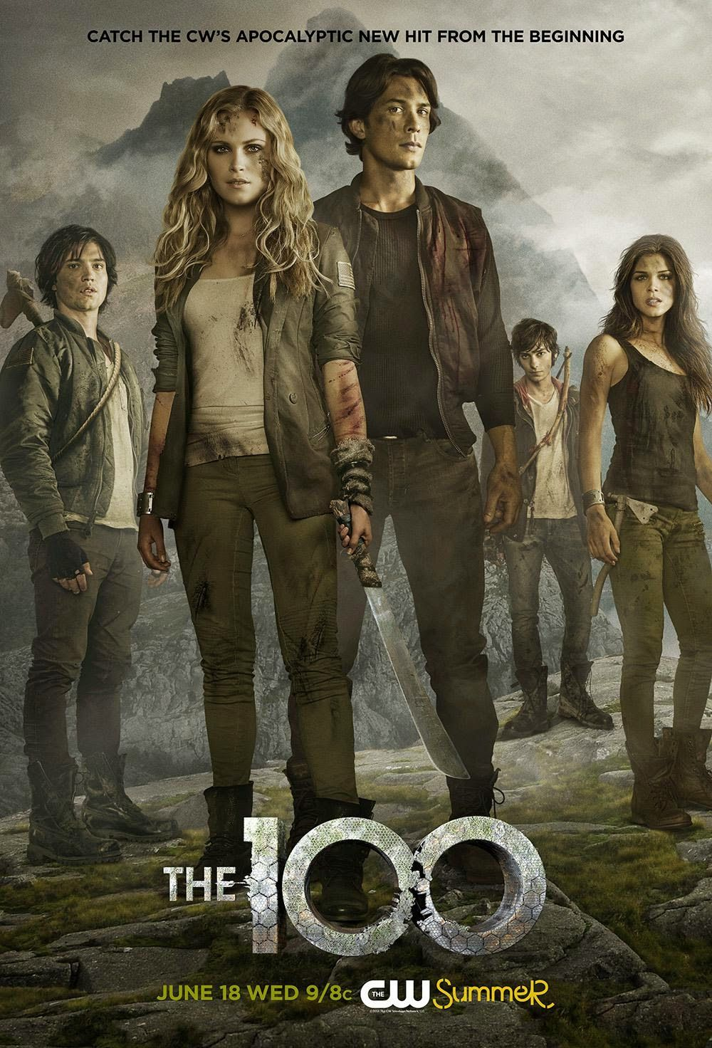 Resultado de imagen para the 100 season 2 poster