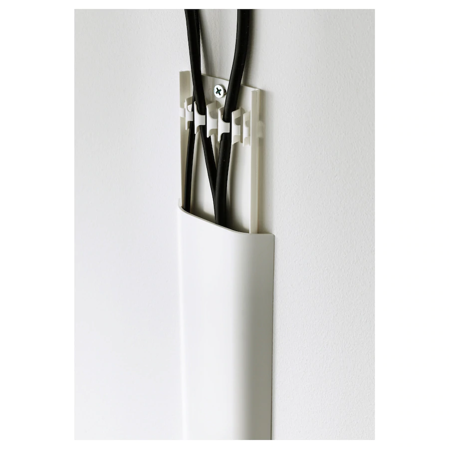 uppleva cache cables blanc ikea