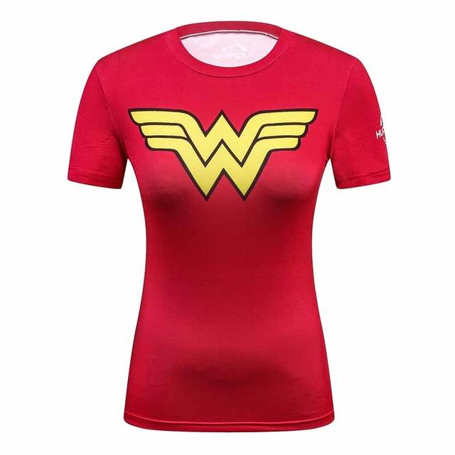 You can t go wrong with these Superhero Compression Shirts for everyday or  at the gym. PRODUCT FEATURES - Wonder Woman 99649ea365d7