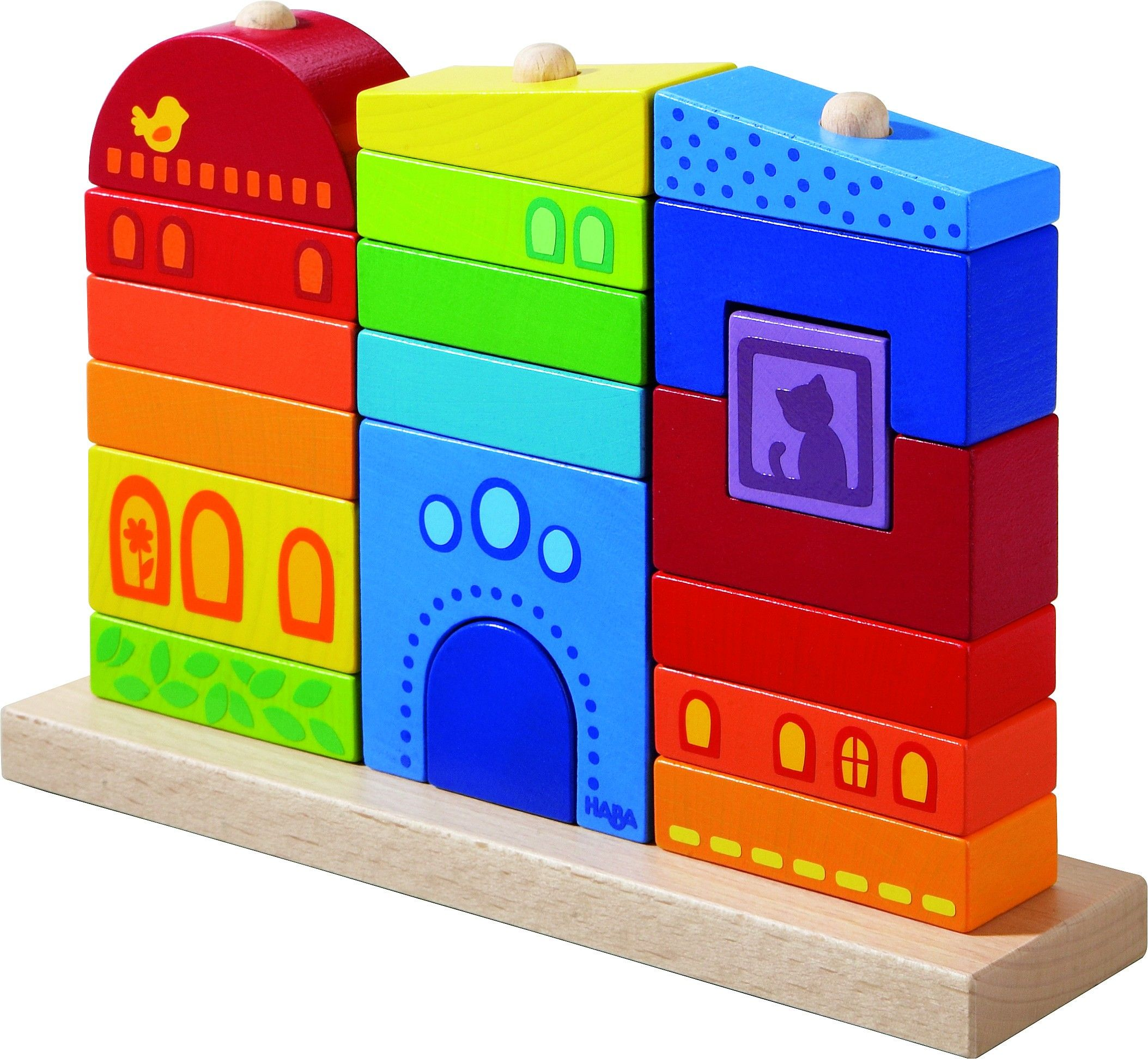 Cute stacking game Great for developing fine motor skills Haba