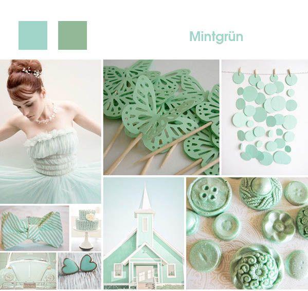 1. Mintgrün hochzeit dekoration 2013 2014 thema details Mintgrün ...