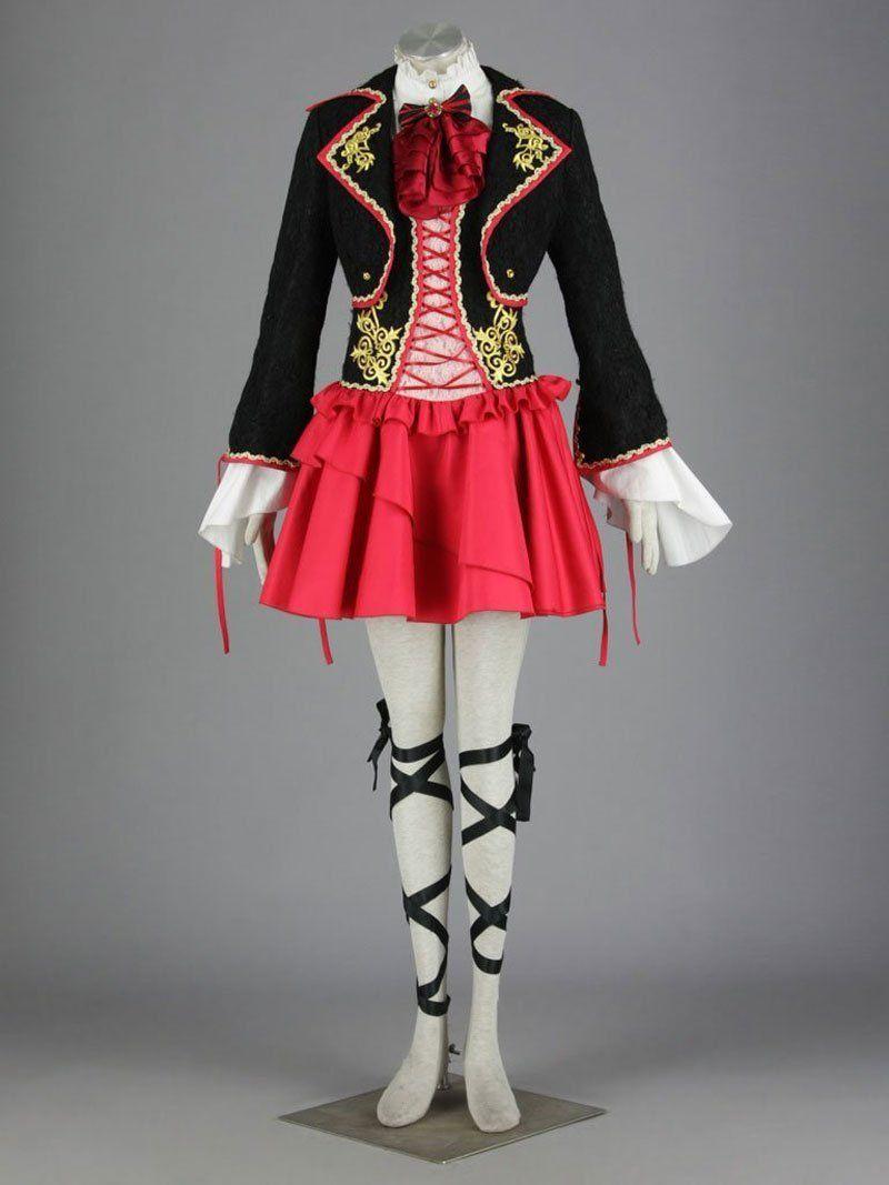 Focuscostume vocaloid kagamine rin suit skirt cosplay
