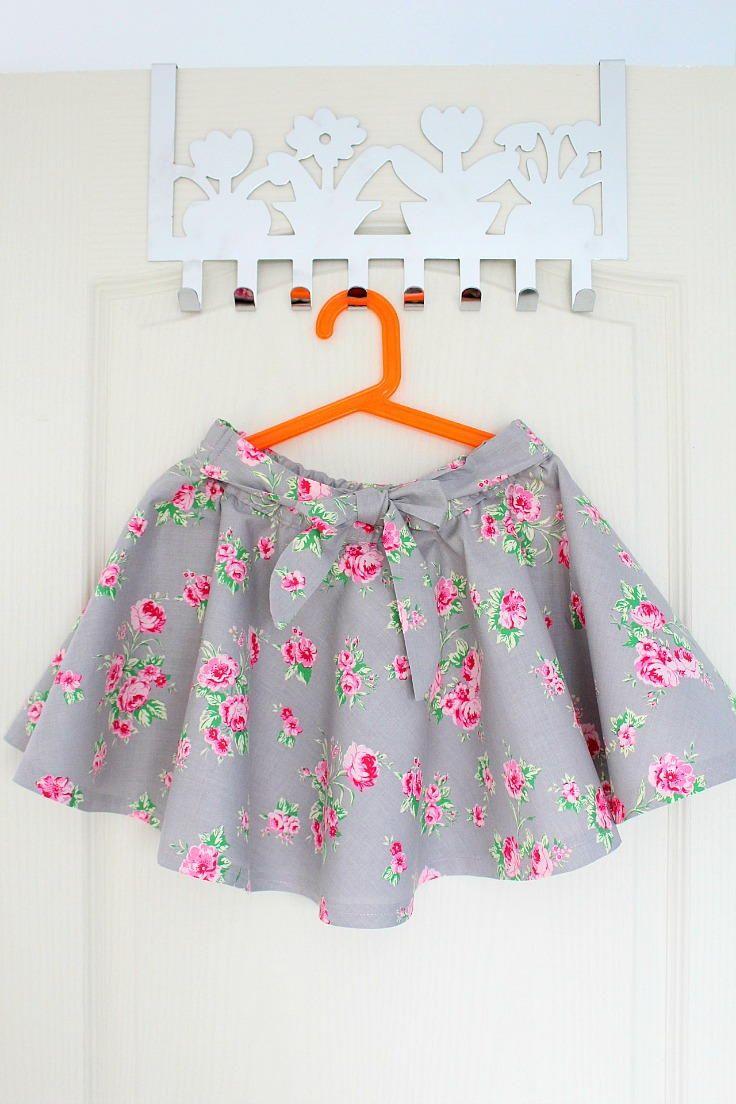 DIY Circle Skirt Tutorial | Easy Fashion Tutorials | Pinterest ...
