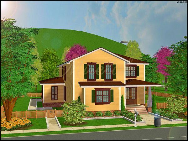 Sims 2 Houses Sims House Sims 2 House Sims