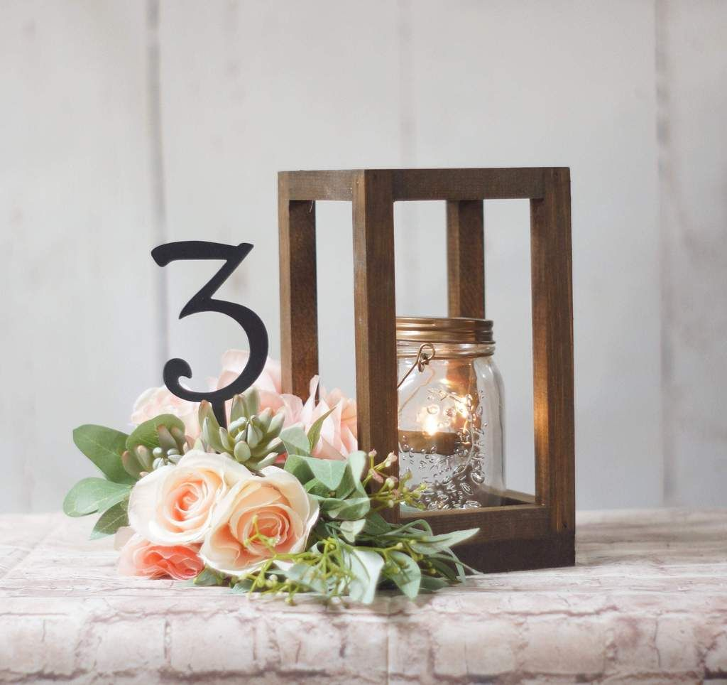 10 Bulk Wedding Lantern Centerpieces