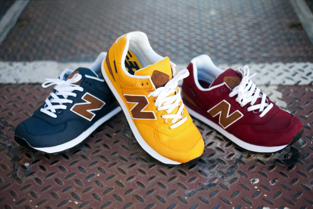 """New Balance 574 """"Backpack"""" Collection"""
