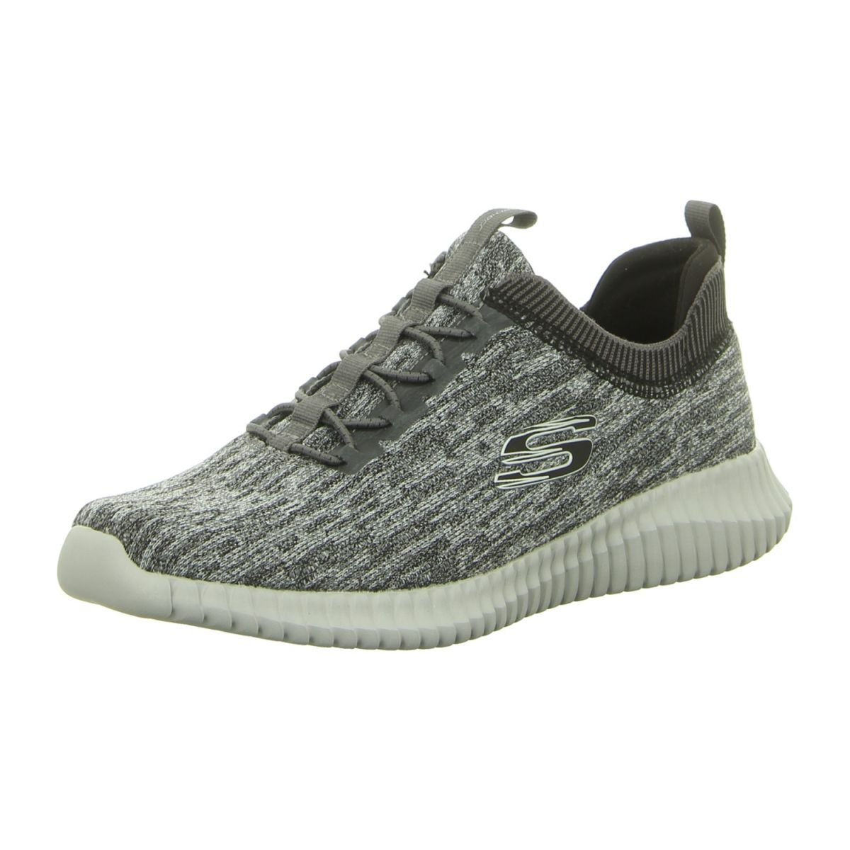 NEU: Skechers Slipper EliteFlex Hartnell 52642 GYBK gray