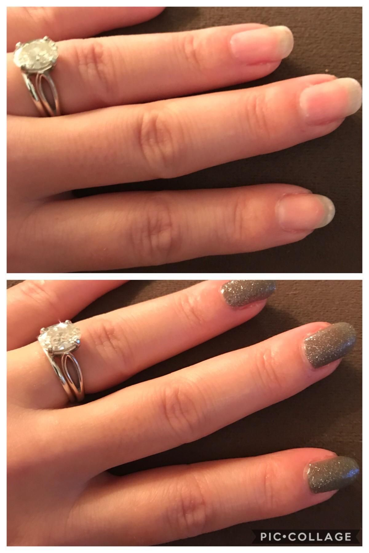 The Longest My Natural Nails Have Ever Been Evmore Electric Vehichle Natural Nails Creative Nail Designs Short Nail Designs