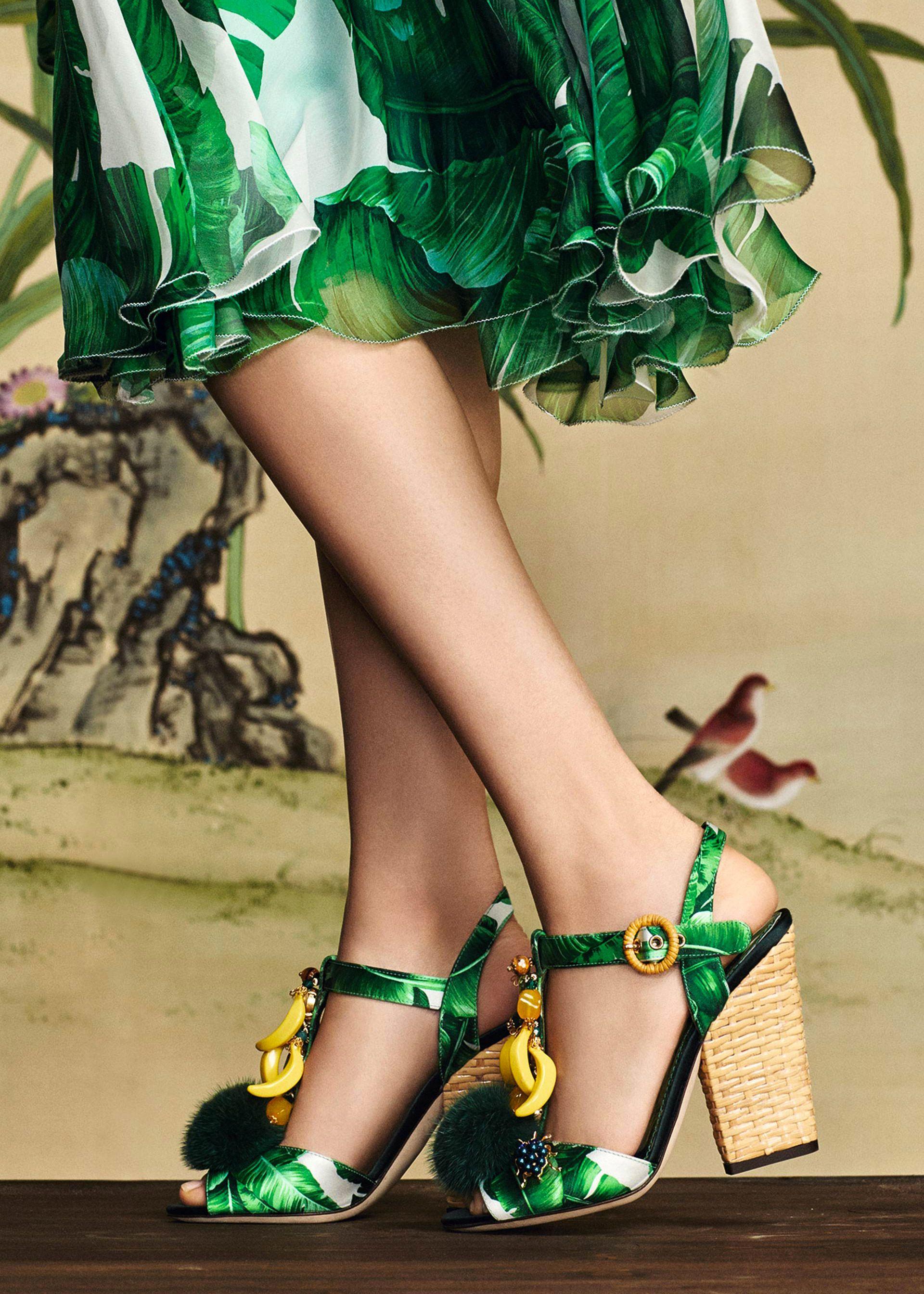 1d84b820c0 Dolce & Gabbana shoes: Dolce & Gabbana - Botanical Garden, Fall ...