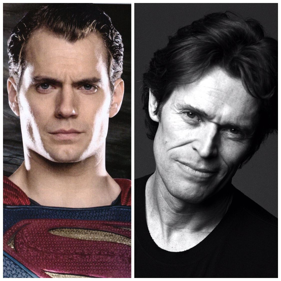 #WillemDafoe joins @HenryCavill in #JusticeLeague, and he's supposed to be playing a good guy! bit.ly/1NkFuFW #Superman #CoStar #Filming #London #ManofSteel #DawnofJustice #BatmanvSuperman #DC #WarnerBros #HenryCavill