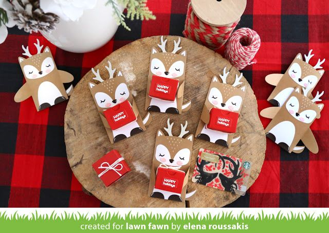 Woodland critter christmas gifts