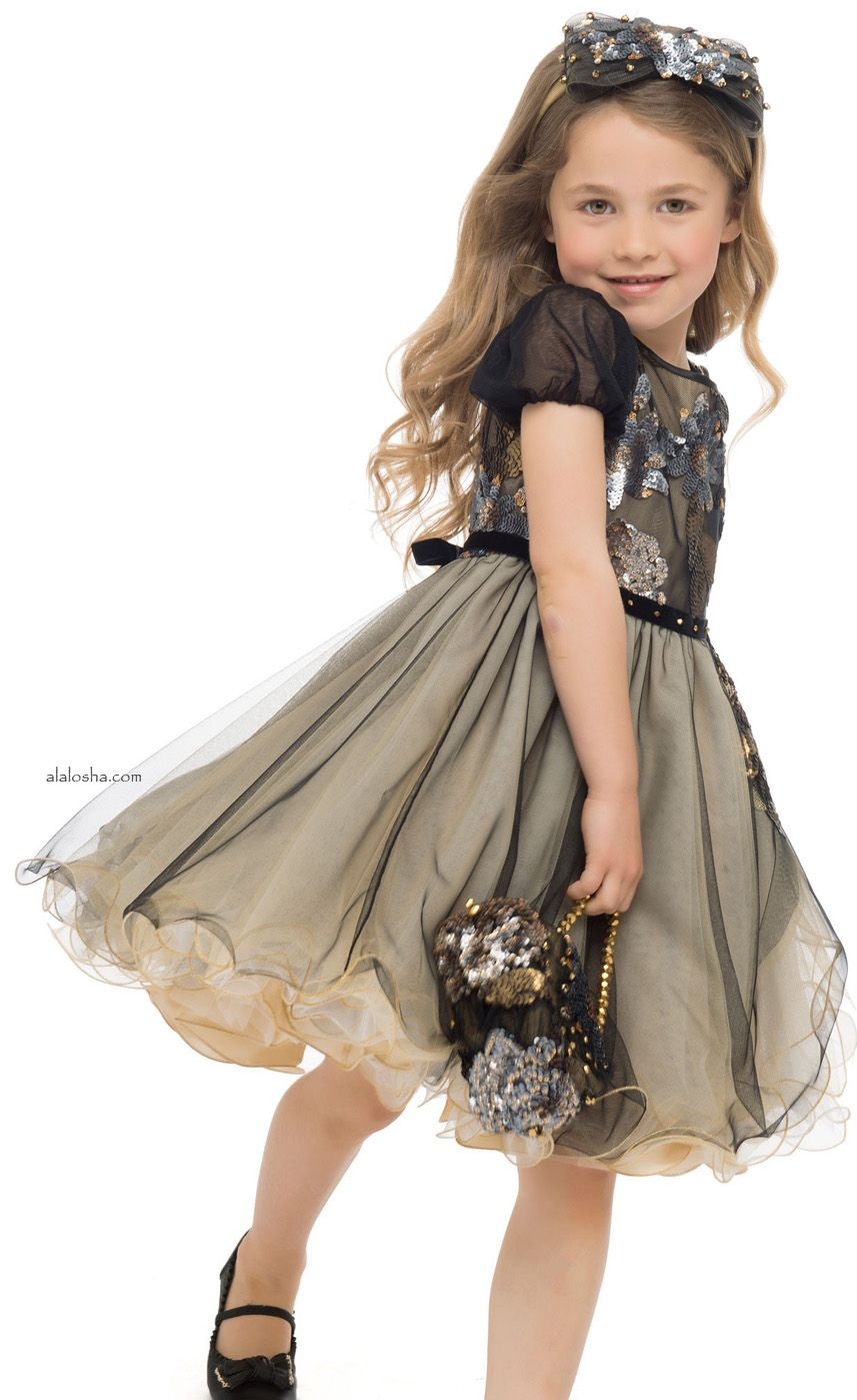 ALALOSHA: VOGUE ENFANTS: NEW season: The Lesy miracle dresses ...