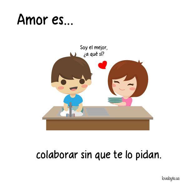 El-amor-es...-ilustraciones-de-loveByte-8.jpg (605×600) | Parejas ...