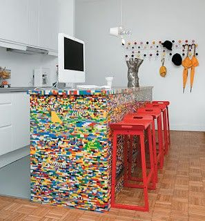 Lego kitchen island, total genius!