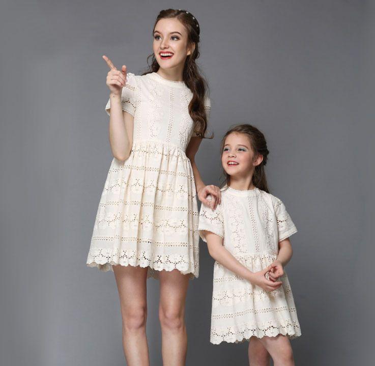 Ucuz 2015 en popüler aile için moda kıyafetler anne ve kızı yaz kısa kollu elbise o  boyun elbise., Satın Kalite aile Eşleştirme kıyafetler doğrudan Çin Tedarikçilerden:   Boyutu/yükseklikskirtlengthBust*2omuz genişliğikol uzunluğu90cm51cm60cm26cm15cm100cm54cm64cm27cm15.5cm110c