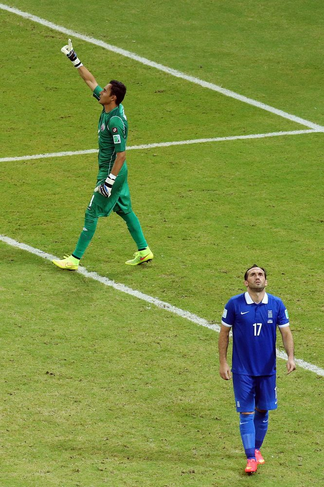 Costa Rica S World Cup Dream Survives Penalty Shootout World Cup World Football Penalty Kick