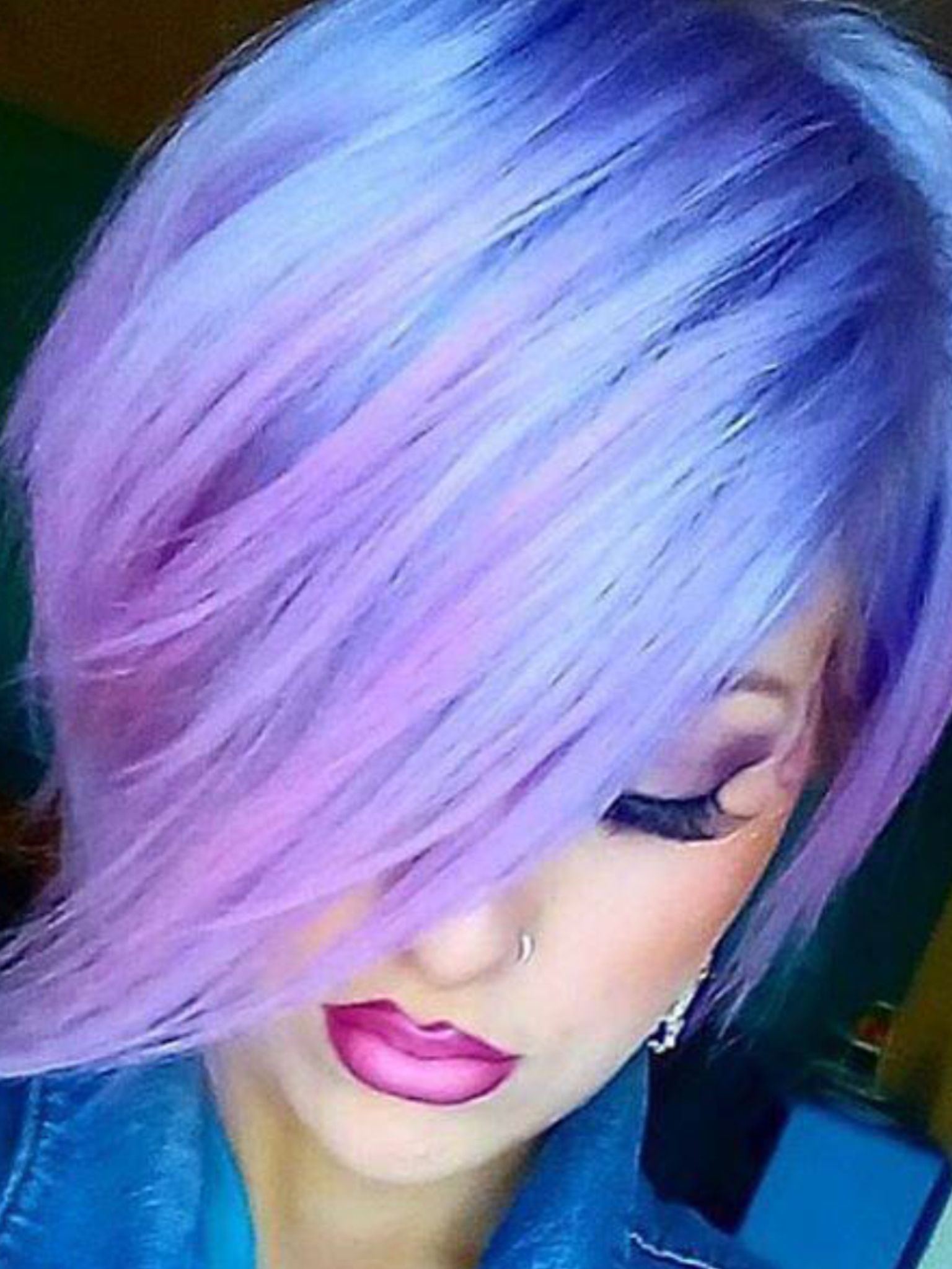 Gorgeous colour Who can create this for you !!   Purple ...