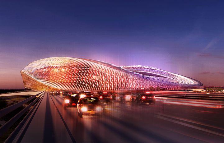 Modern Architecture Atlanta atlanta stadium construction thread | architects, architecture and