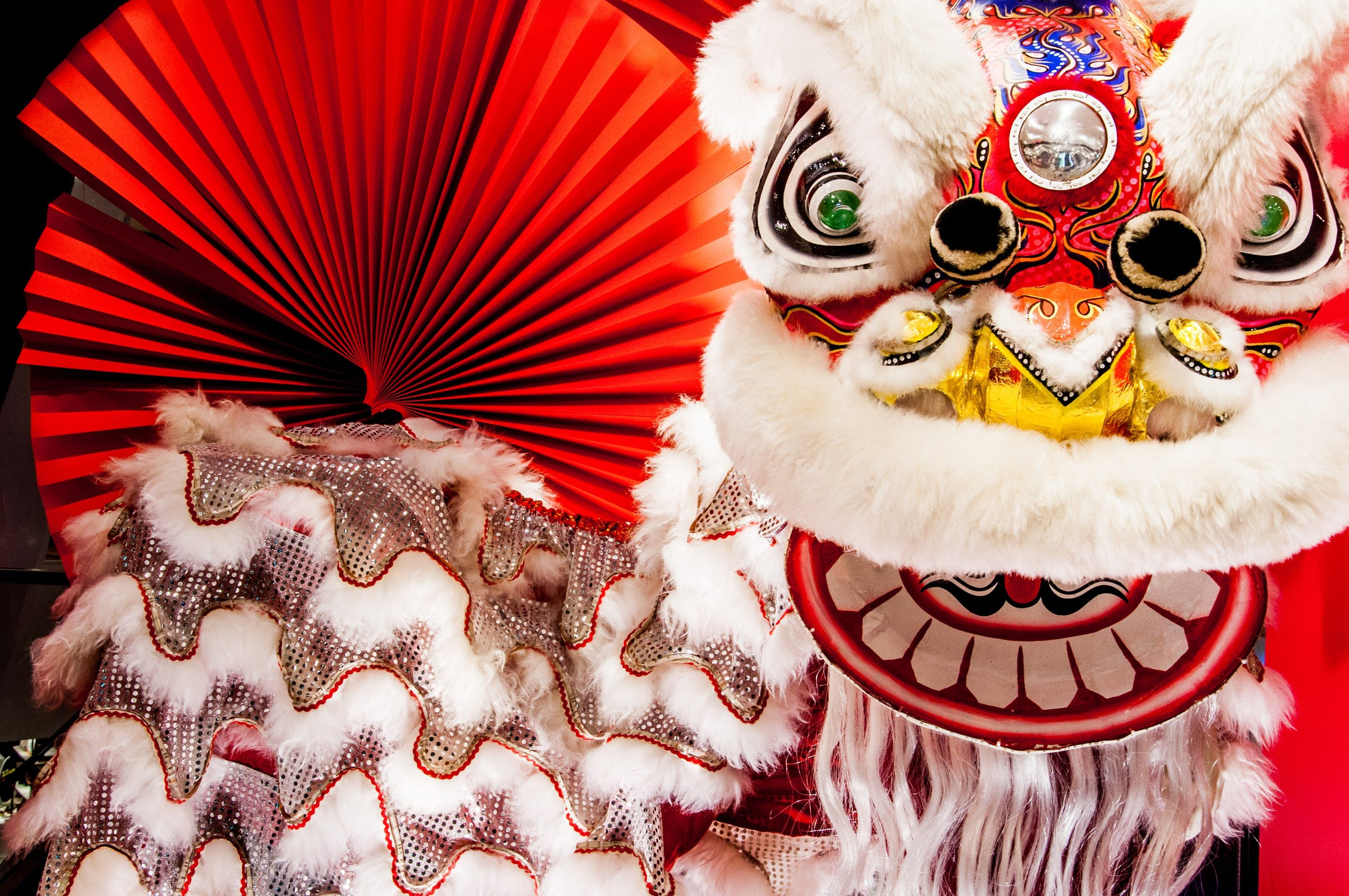 Chinese New Year Mythical Monster Nian Chinese New Year 2020 Chinese New Year Chinese Lion Dance