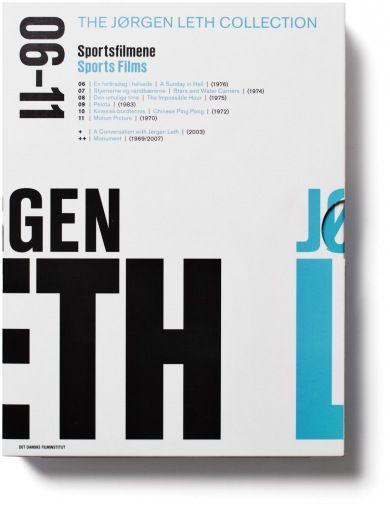 Jørgen Leth DVD box series by Rasmus Koch Studio, Copenhagen; #GR310, #OL1, #Spring 2013, #pin1 @Lian Ng