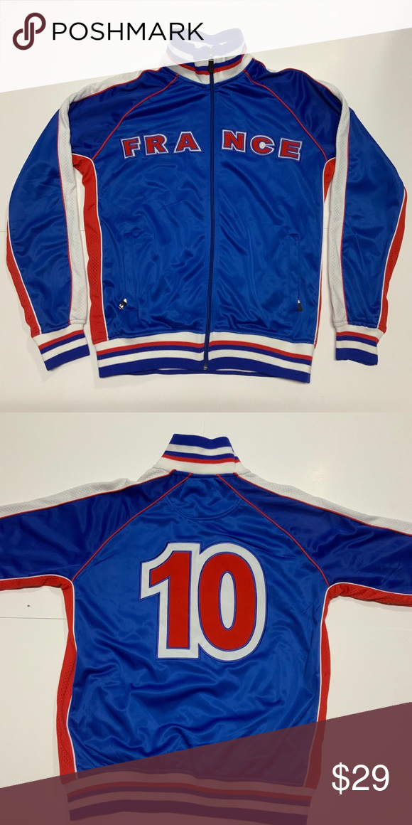 sports shoes ed4f9 bb67d France National Team Soccer #10 Mbappe Jacket This jacket ...