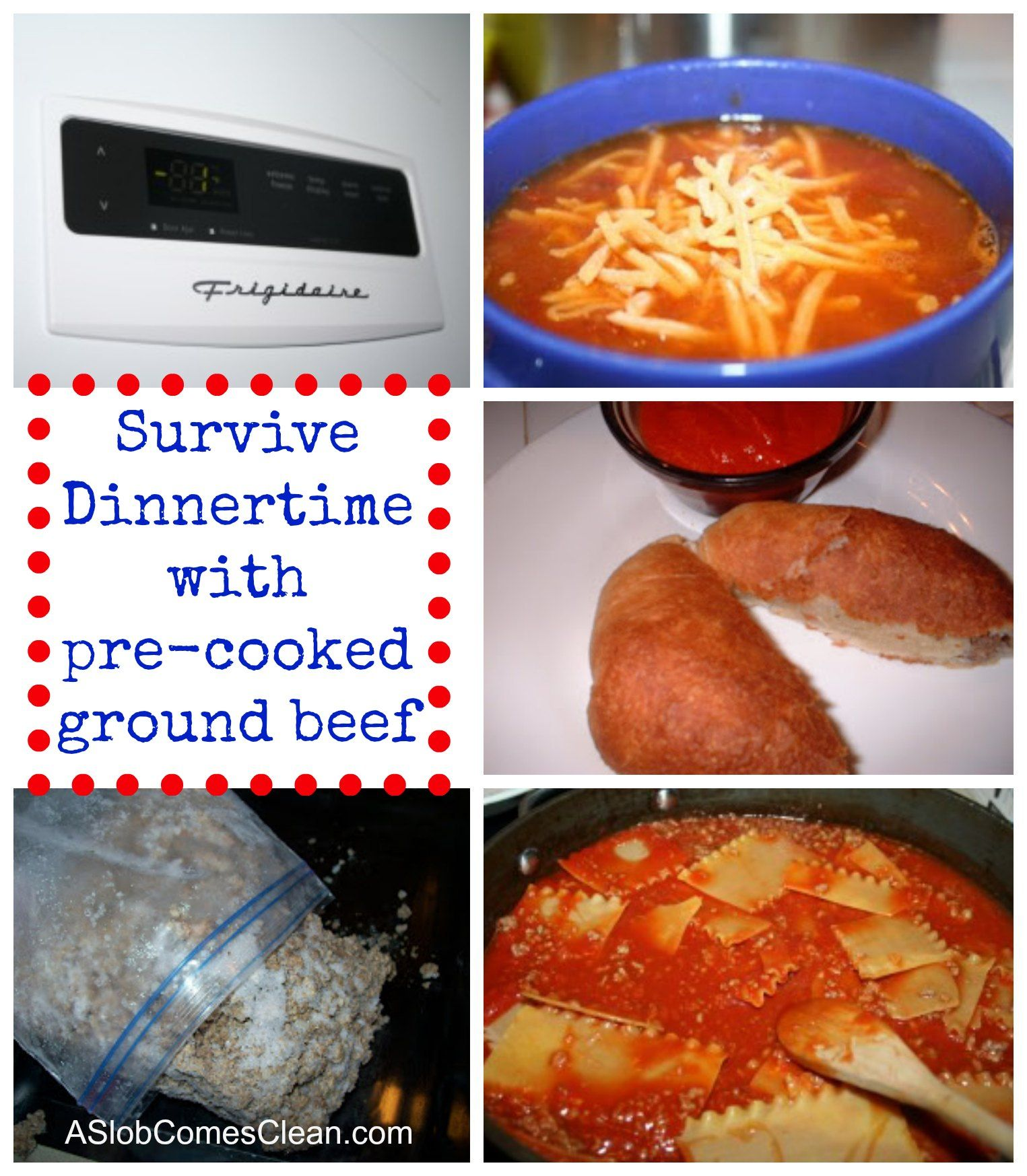 Freezer cooking ground beef meals and freezer for Things you can make with ground beef