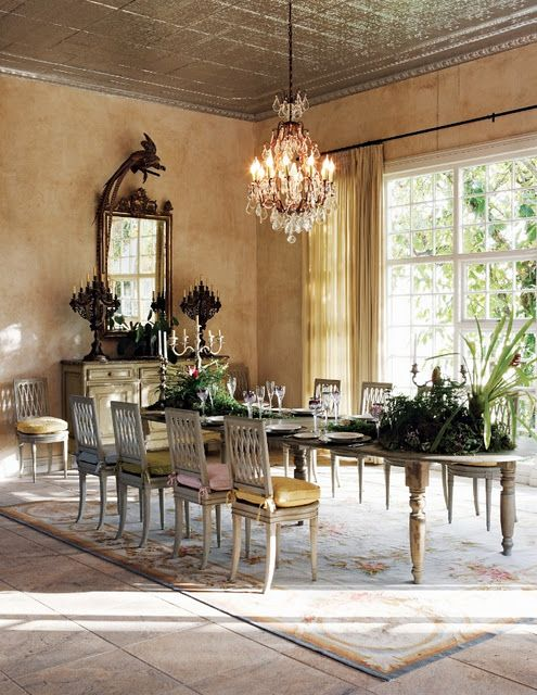 My kind of dining rm. big enought for every one!