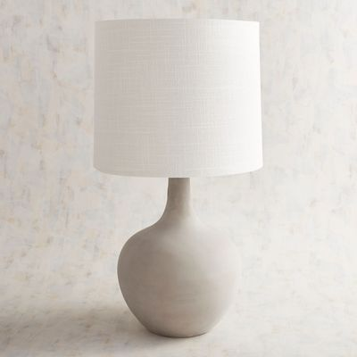 Magnolia Home Ashby Large Cement Table Lamp Pier 1 Imports Magnolia Homes Cement Table Table Lamp