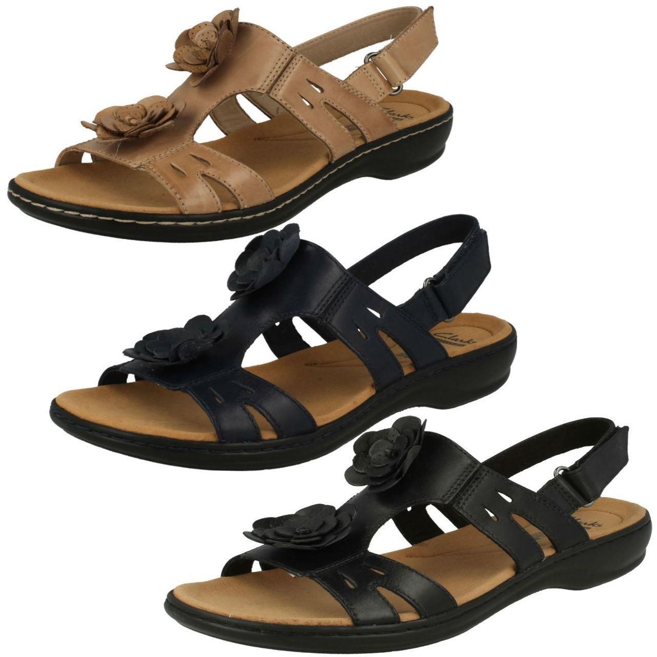 les chaussures fleur mesdames clarks fleur chaussures - leisa des sandales 12bdbe
