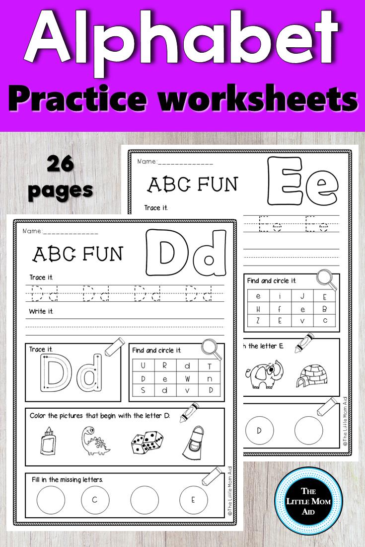 Alphabet Worksheets For Kindergarten Alphabet Practice Alphabet Worksheets Kindergarten Alphabet Practice Worksheets [ 1100 x 735 Pixel ]