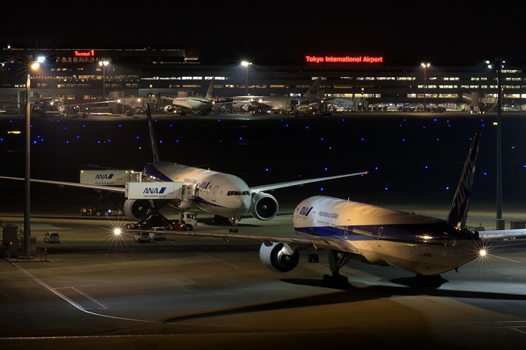 Ana Boeing 777 300er Aircraft Dsc7630 Boeing 777 Aircraft International Airport