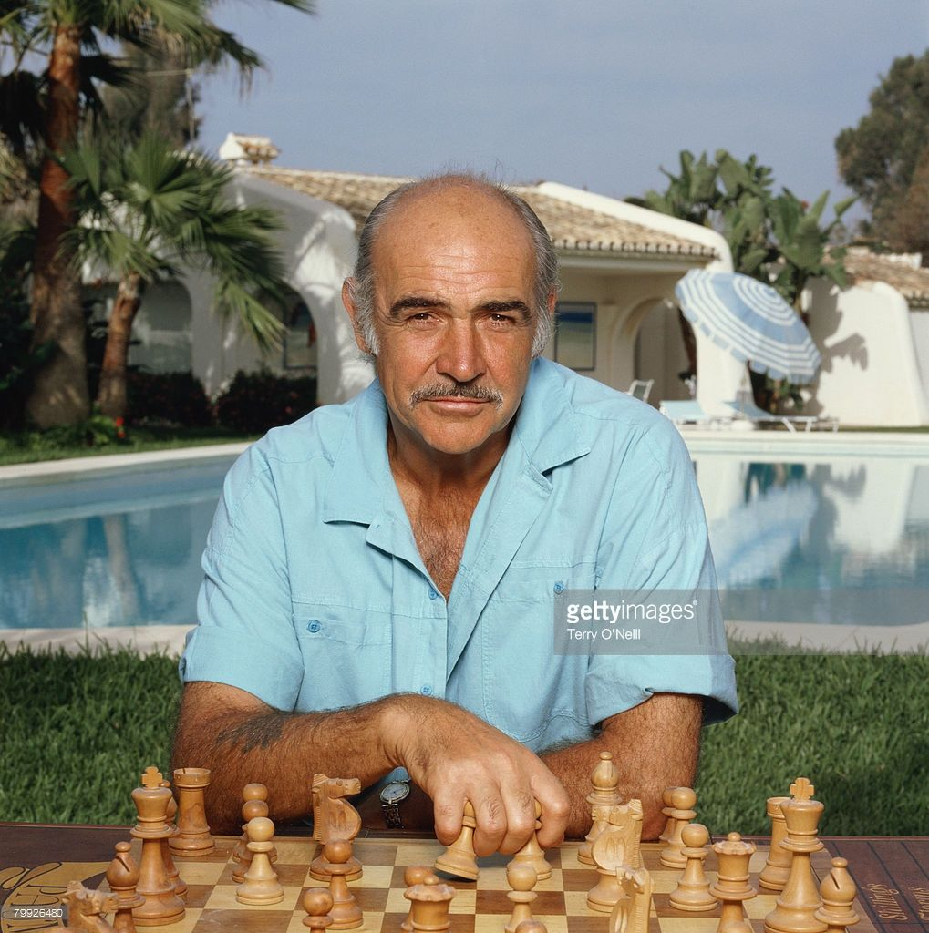 Actor Sean Connery Turns 80 Chess Pinterest