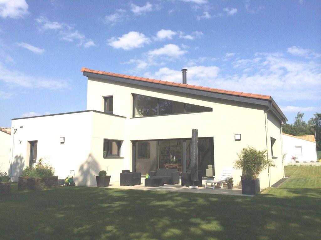 Maison toit plat et tuile ventana blog for Maison en triangle