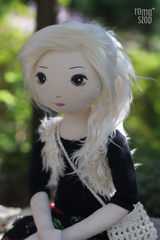 Monika – roma szałowa, handmade doll by romaszop