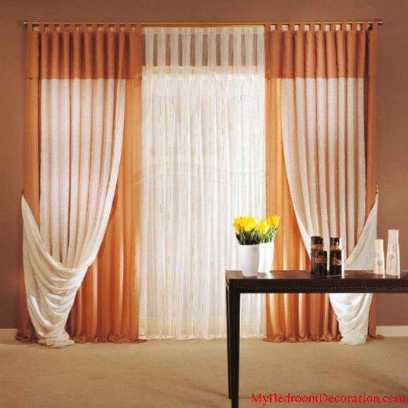 Add Color To Your Private Dens With Bedroom Curtain 2014