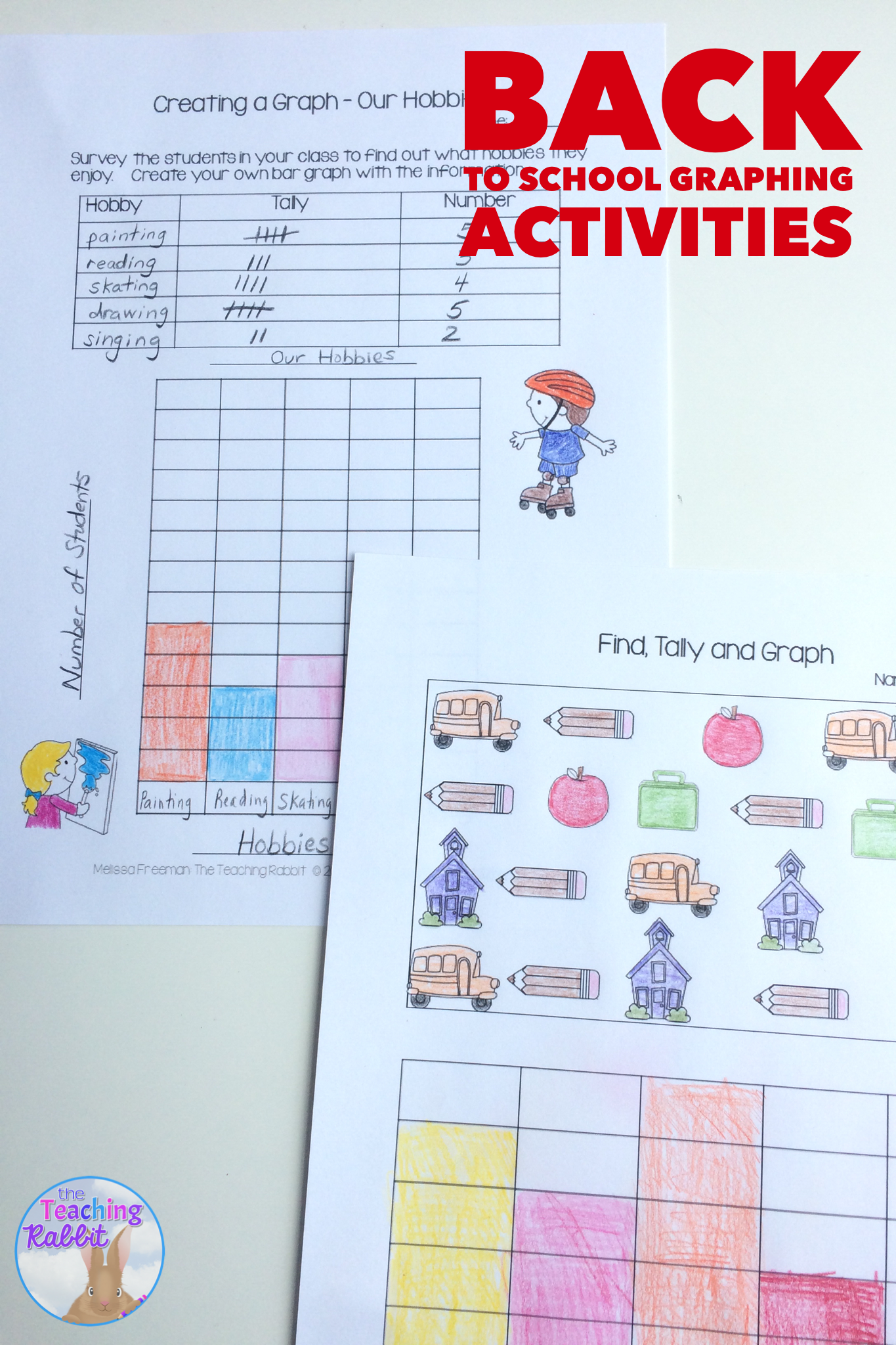 Graphing Activities Back To School
