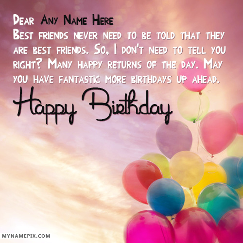 New Happy Birthday Wishes With Name (With images) Happy