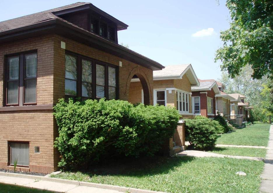 Chicago IL Bungalows In Albany Park On The North Side