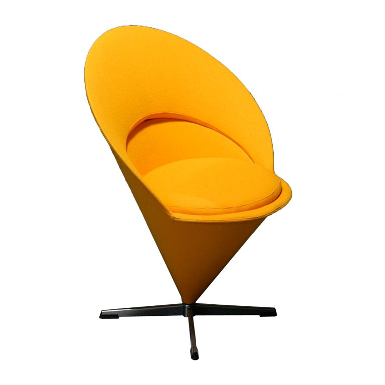 Verner Panton Cone Chair For Plus Linje