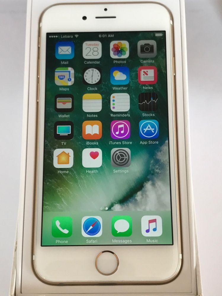 Apple Iphone 6 16gb Gold Unlocked Smartphone Cosas Para