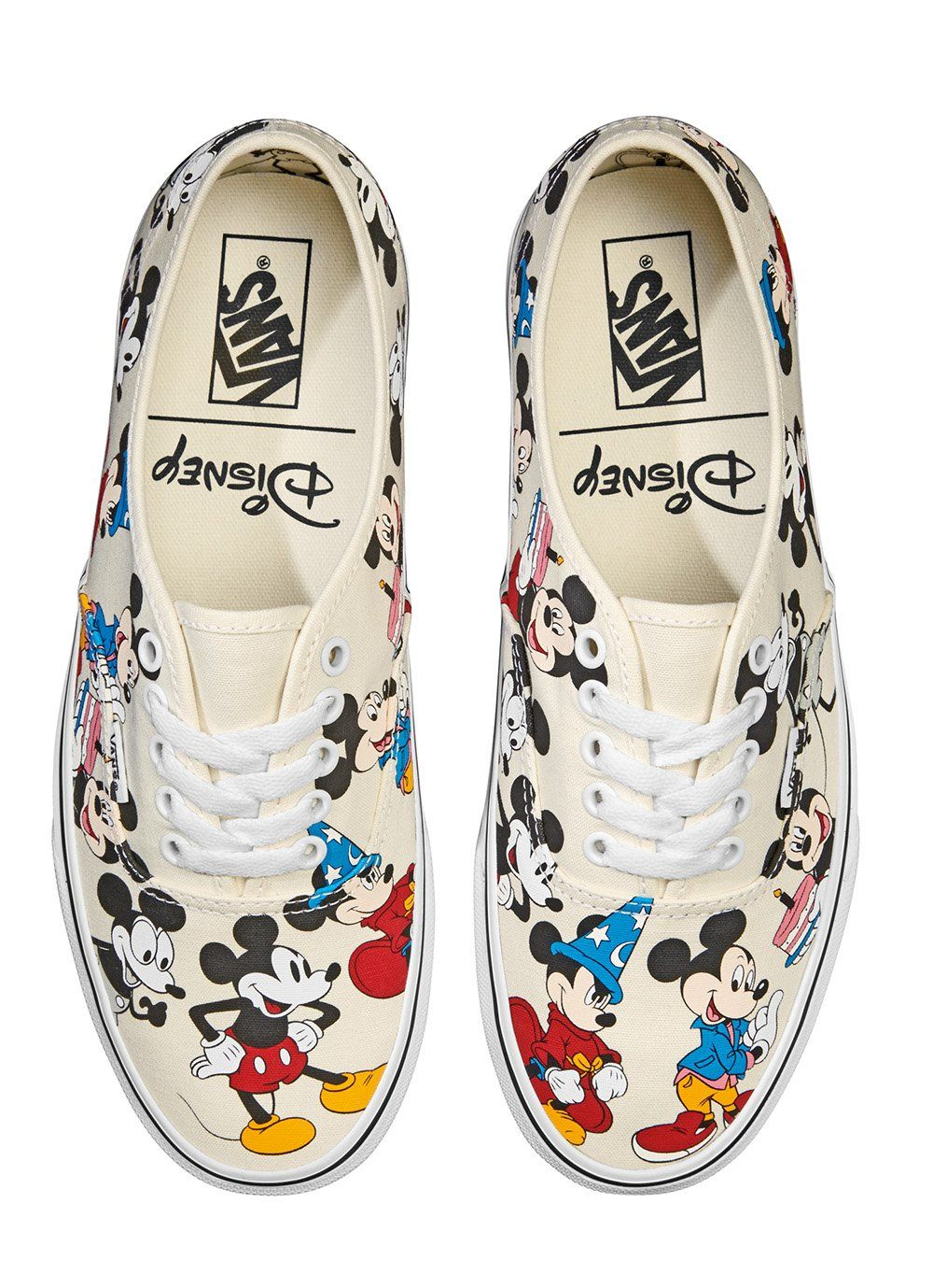 Vans Disney Authentic Mickey s Birthday - Mens Large Sizes 851ab2f87