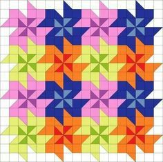 Image result for bordered pinwheel quilts with large and small pinwheels