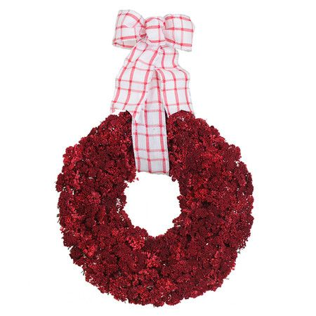 Preserved Yarrow Chair Wreath