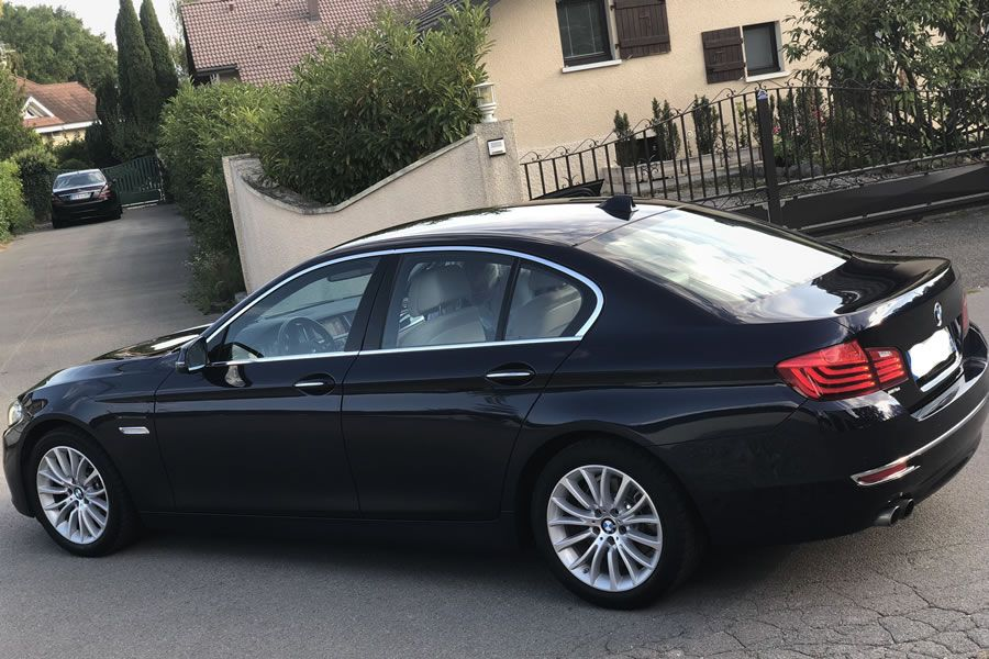 2015 Bmw 520i Luxury Xdrive For Sale Brilliant Imperial Blue