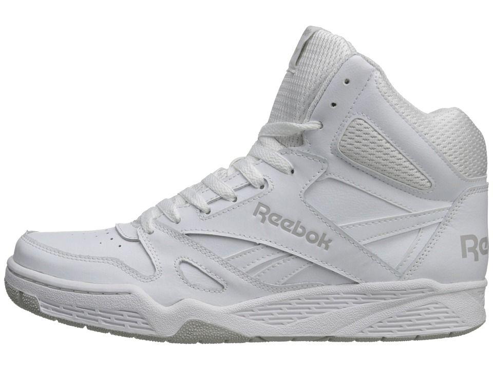 8be9f30473d Reebok Royal BB4500 Hi Men s Basketball Shoes White Steel