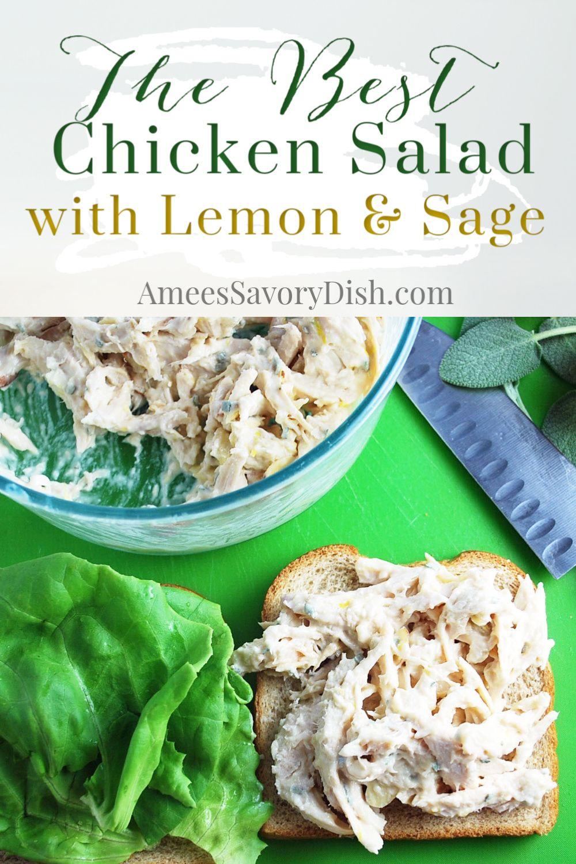 Chicken Salad Recipe Lemon Juice
