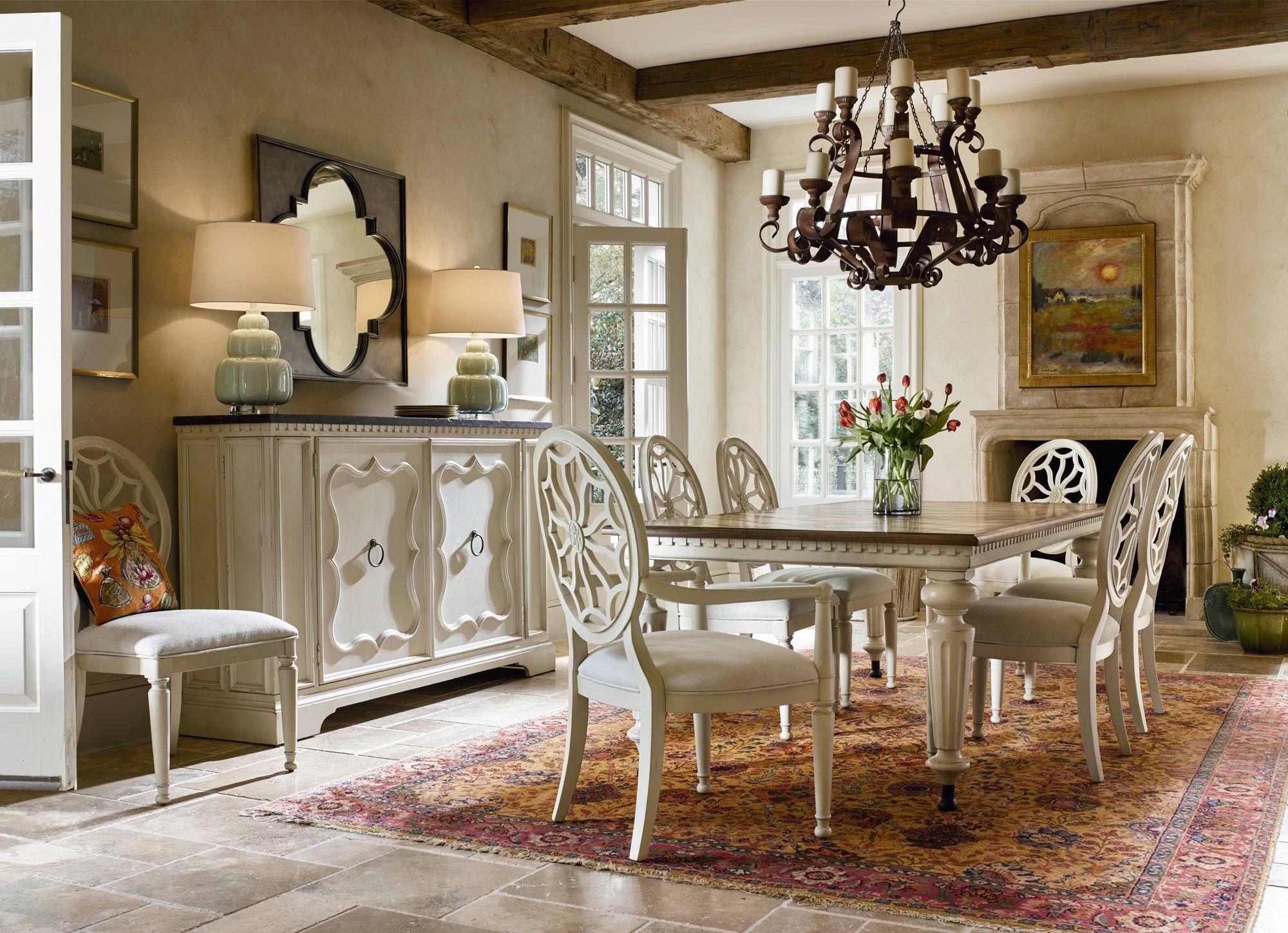 Sojourn Gathering Table Dining Room Set  Universal Furniture Amusing Universal Furniture Dining Room Set Decorating Design