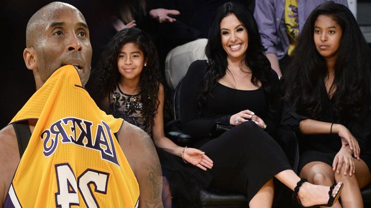 644ceeba386 Kobe Bryant Brings His Whole Family to Jersey Retirement Ceremony ...